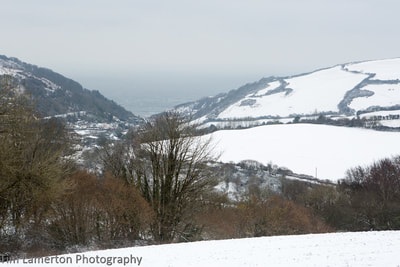 Hele in the snow from afar, Tim Lamerton Photography, Tim Lamerton